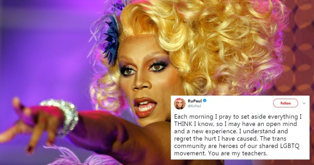 RuPaul has addressed his comments about trans drag artists