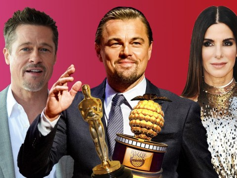 Which actors and actresses have won an Oscar and a Razzie?
