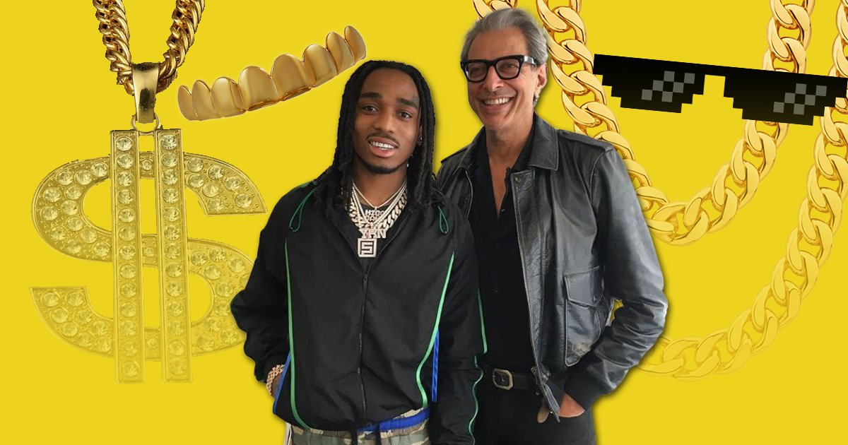 Jeff Goldblum keen to work with Migos after bumping into Quavo