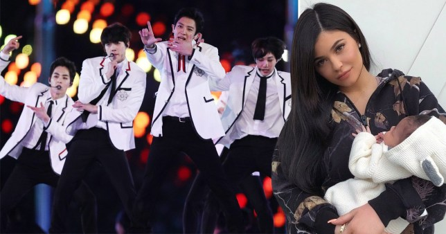 Kylie Jenner is loving K-Pop right now