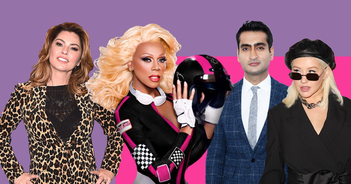 RuPaul's Drag Race season 10 guest judges revealed featuring Christina Aguilera and Shania Twain