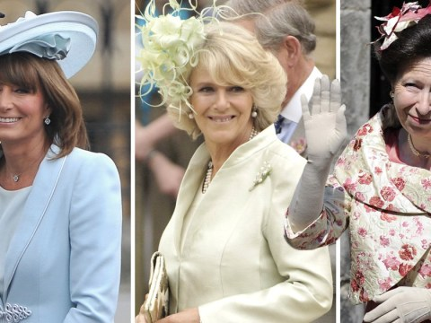 Royal mother of the bride dresses for inspiration from Diana to Kate Middleton's weddings