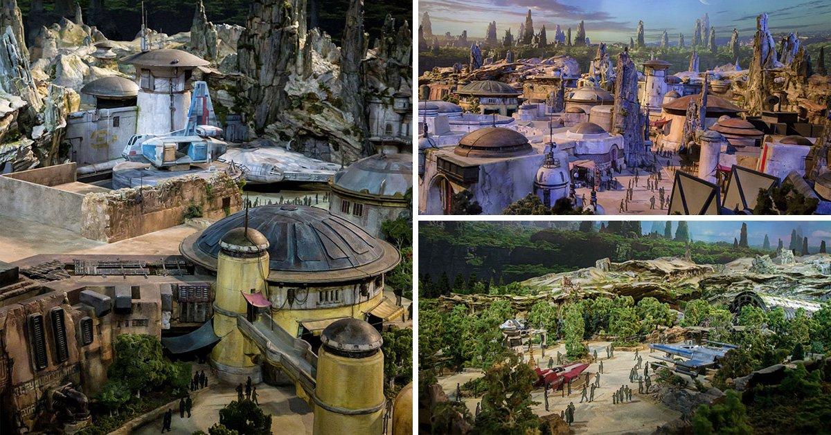 Disney reveal footage of its brand new Star Wars: Galaxy's Edge theme park