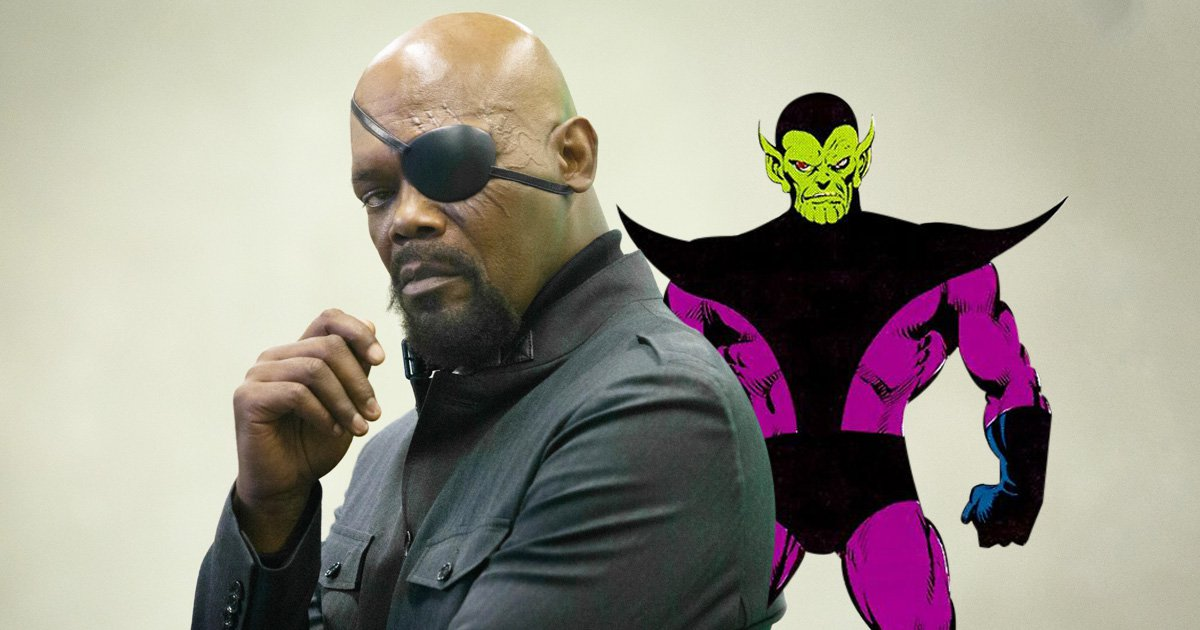 Could Nick Fury Be Revealed As A Skrull In Captain Marvel Film
