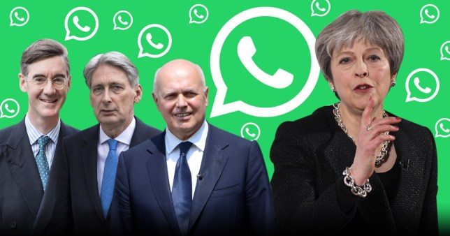Hundreds of Tory WhatsAapp messages leaked and they are angry