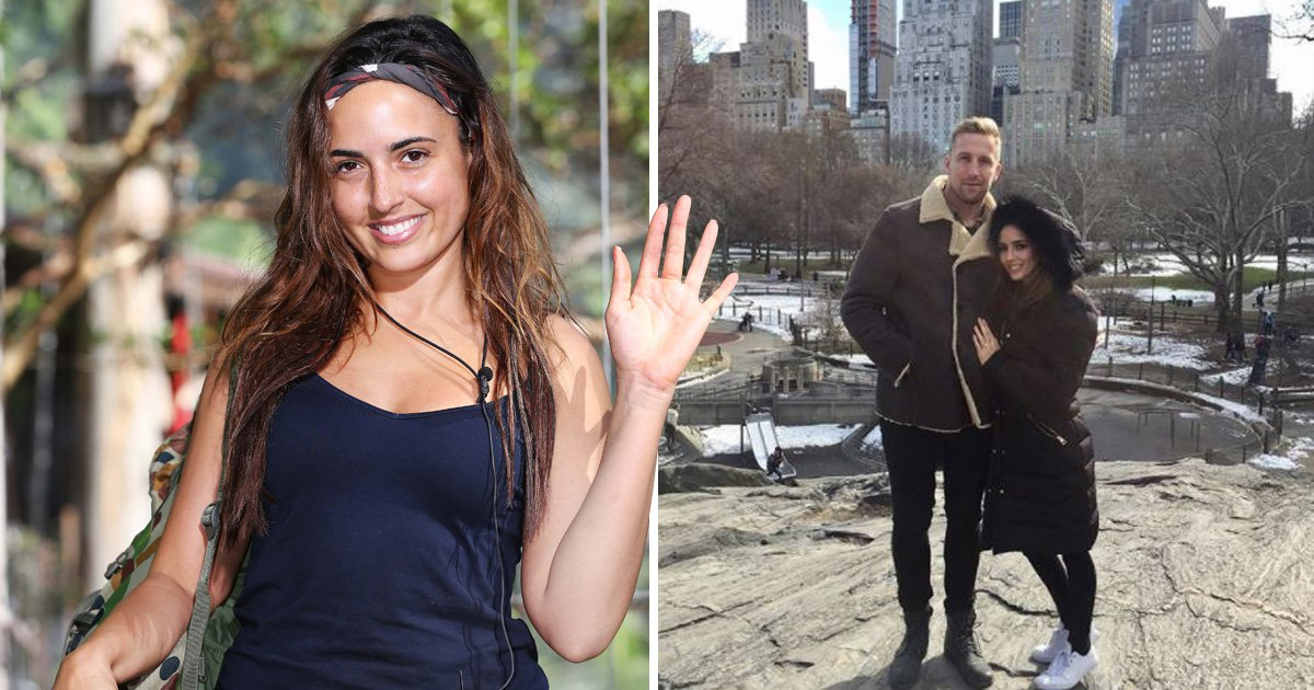 Former I'm A Celeb star Nadia Forde says YES to marriage proposal during holiday in New York