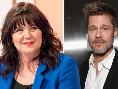 Newly single Coleen Nolan has set her sights on Brad Pitt