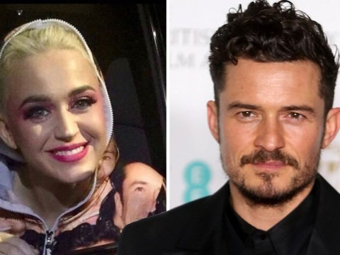 Katy Perry appears to confirm Orlando Bloom romance is back on as she wears onesie covered with his face