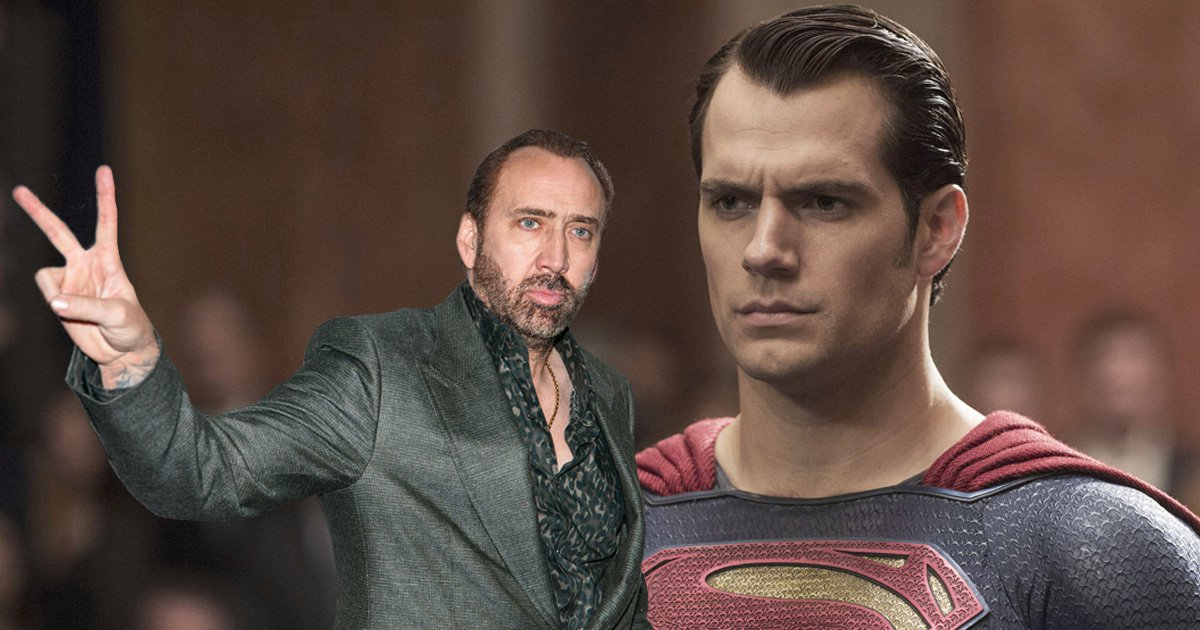 Move over Henry Cavill! Nicolas Cage will be playing Superman in an upcoming Teen Titans movie