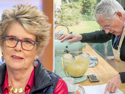 Nick Hewer dubbed 'appalling' by Prue Leith on The Great Celebrity Bake Off