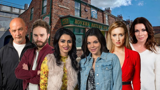Coronation Street preview with Phelan, David, Rana, Kate, Eva and Carla