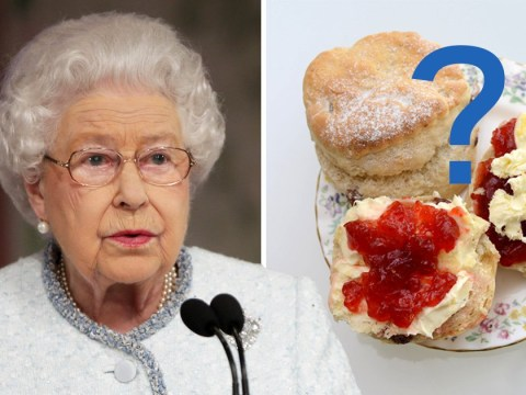 Has the Queen finally settled the great cream tea debate once and for all?