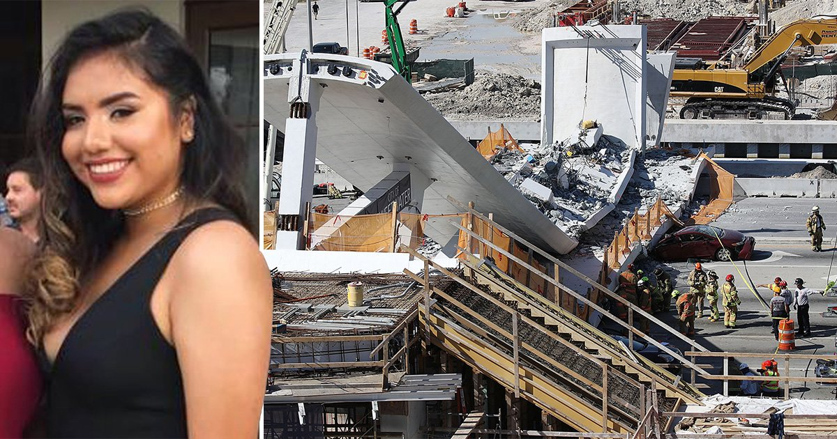 First victim of Miami bridge collapse named as 18-year-old Alexa Duran