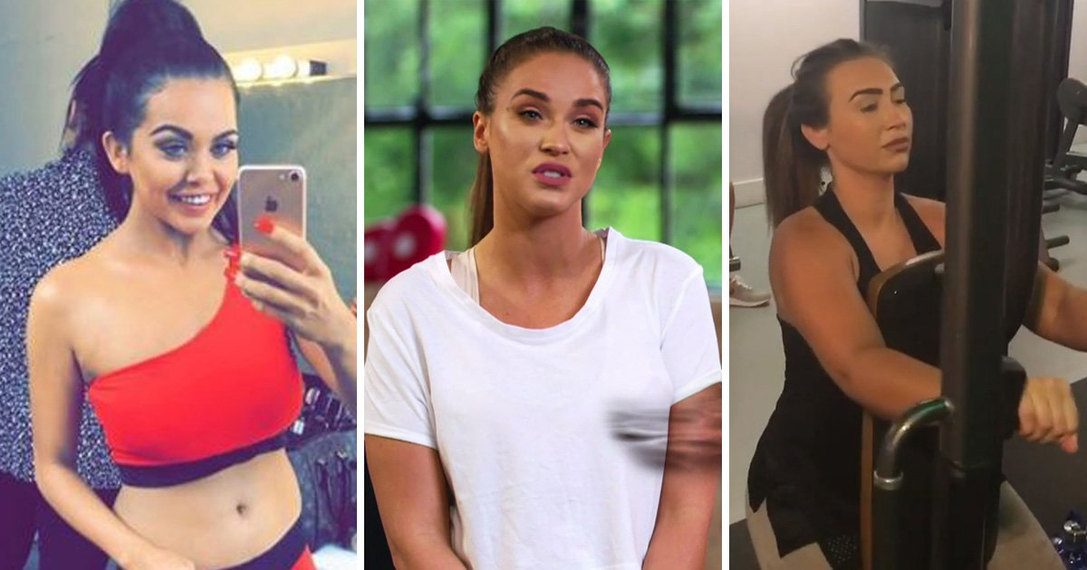 Celeb exercise DVDs exposed amid claims Lauren Goodger and Vicky Pattison were left 'miserable'