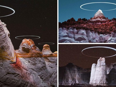 Photographer takes out of this world pics using drones to create mountain halos