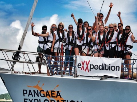 All-female crew to cross the Pacific to fight plastic pollution