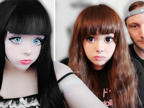 British student with anxiety shuns the world to become a human doll