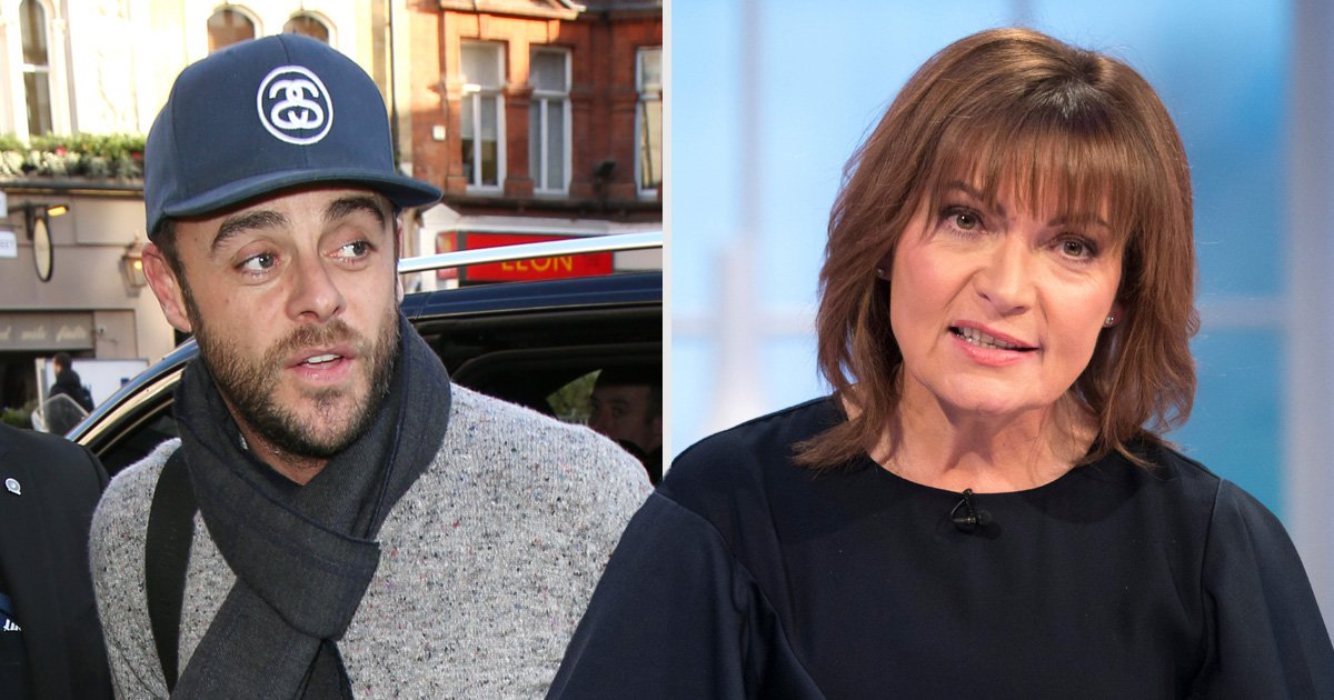Lorraine Kelly claims Ant McPartlin will be back on Saturday Night Takeaway after arrest