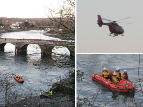 Toddler rescued from 'stolen' Mini that was driven into river