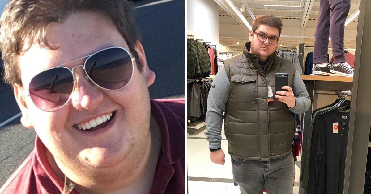 Man who was bullied for his weight becomes a plus-size model