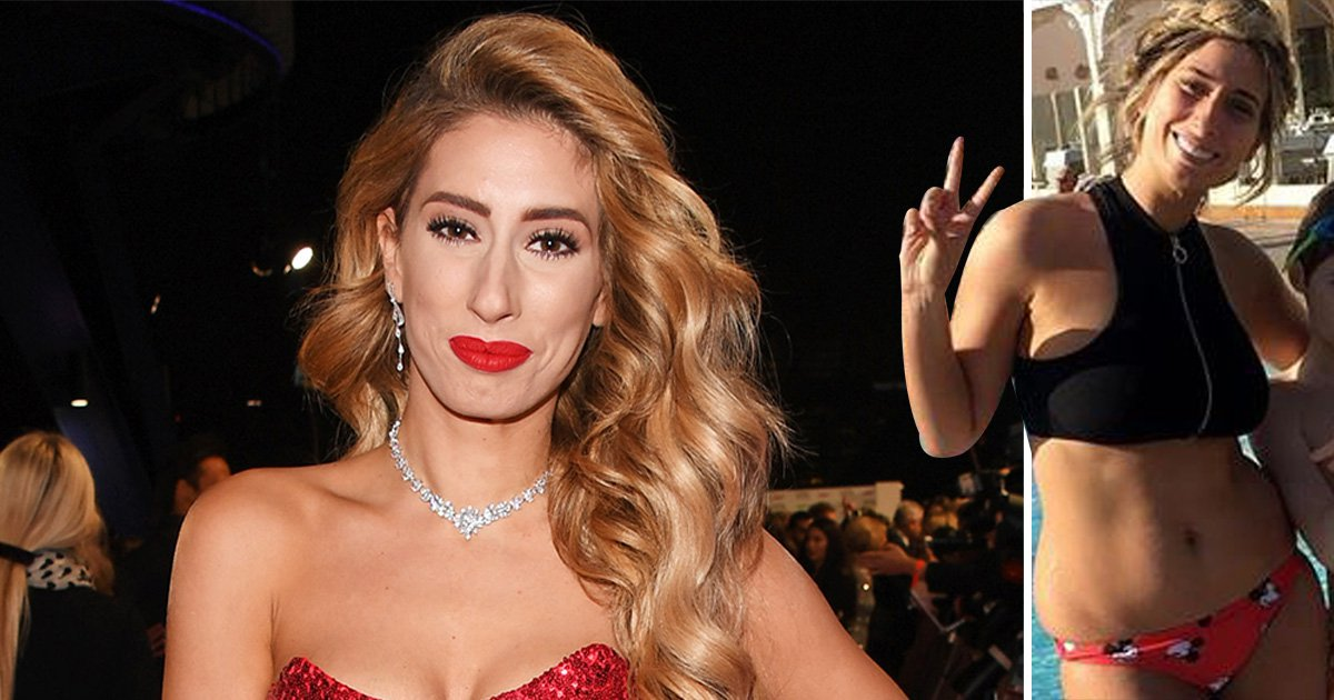 Stacey Solomon shows off her 'normal bikini body' on holiday – and we salute her for it