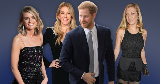 Meghan Markle gives approval for Prince Harry's exes Ellie Goulding, Chelsy Davy and Cressida Bonas to attend wedding