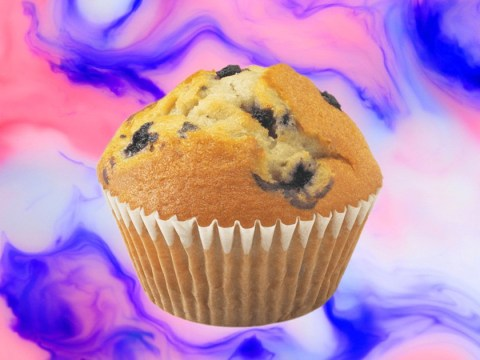 PSA: Blueberry muffins contain sugar and probably quite a lot of it