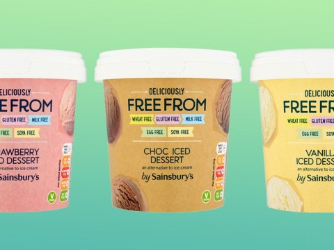 Sainsbury's launches three flavours of Free From vegan ice cream