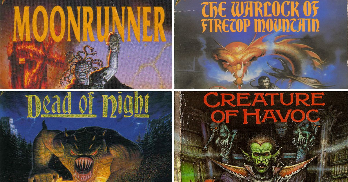 Fighting Fantasy: counting down the 10 best gamebooks in the series