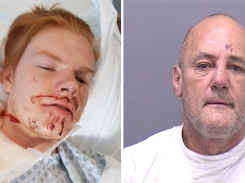 Knifeman slashed student's throat after mistaking him for a different ginger man