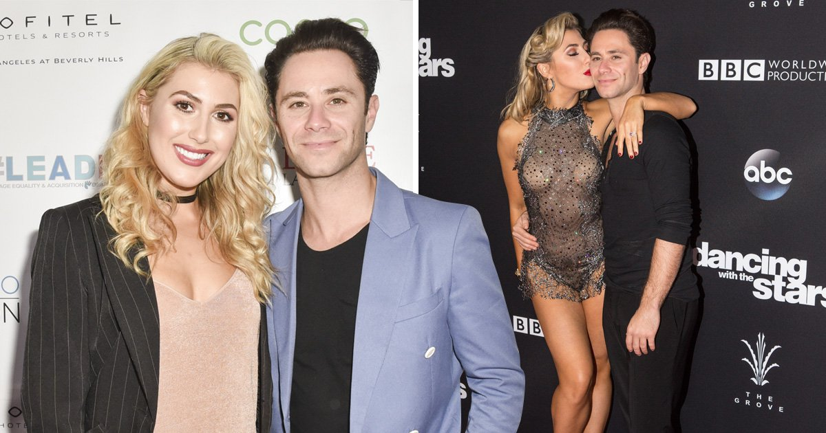 Dancing With The Stars' Emma Slater and Sasha Farber are married