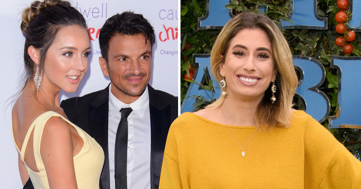 Peter Andre's wife Emily will never home school her children like Stacey Solomon