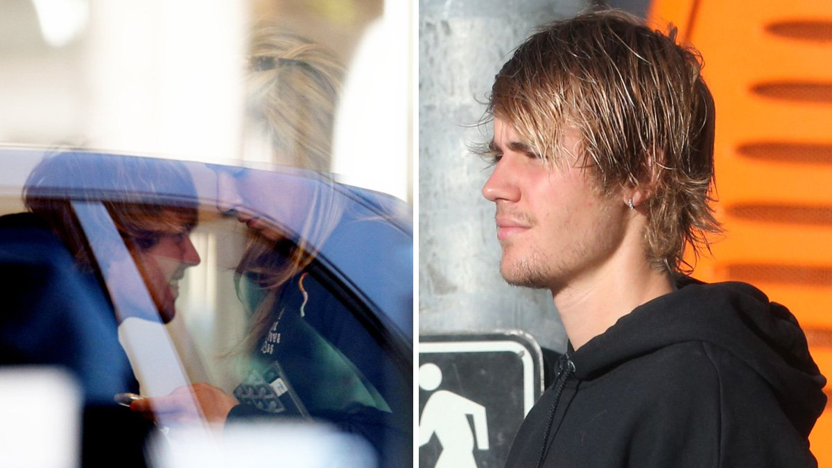 Justin Bieber spotted out with mystery blonde just weeks after Selena Gomez split