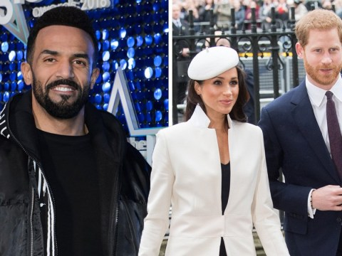 Craig David won't be singing 7 Days or Fill Me In at the royal wedding if he gets asked to perform