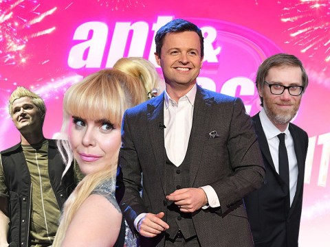 Paloma Faith, Stephen Merchant and The Script support a solo Dec Donnelly on Saturday Night Takeaway