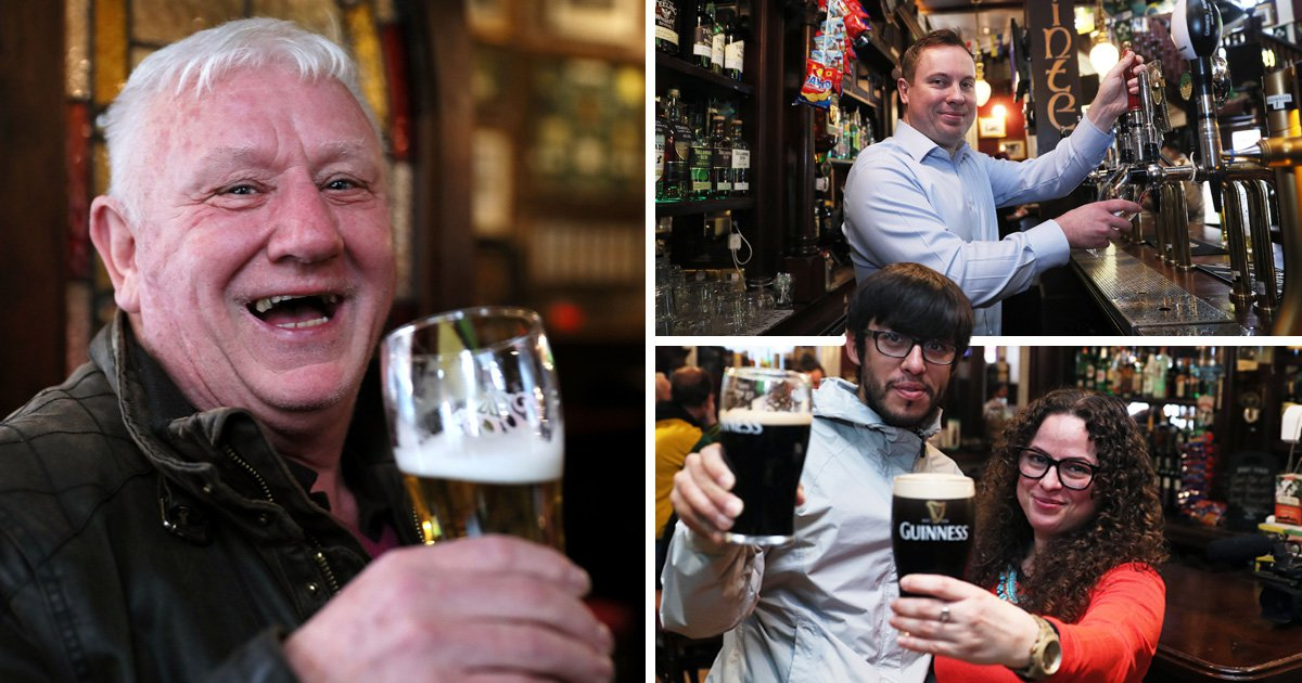 Pubs open in Ireland on Good Friday for the first time since 1927