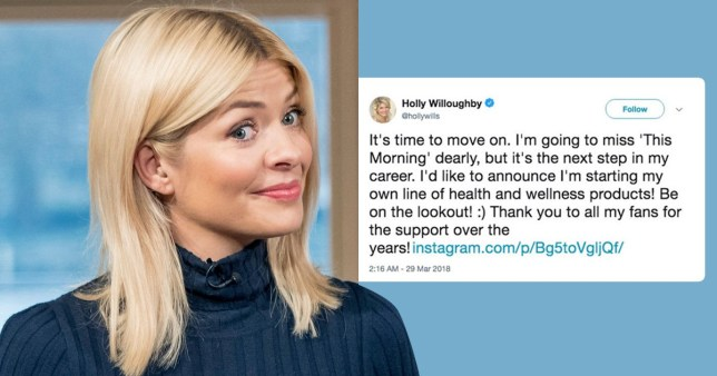 Holly Willoughby Quits This Morning To Push Diet Pills
