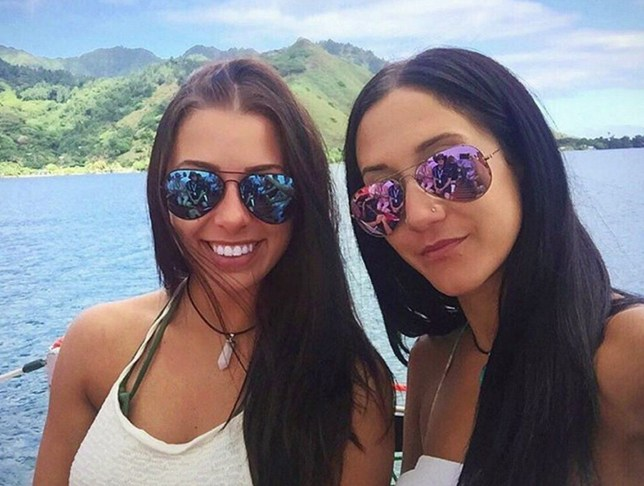 "File image of Melina Roberge (left) with Isabelle Lagac?, were arrested after docking in Sydney - Two Canadians have pleaded guilty to smuggling cocaine into Sydney, Australia on a cruise ship. Melina Roberge, 23, and Andre Tamine, 64, had initially denied their roles in the import of 95kg (210lb) of drugs on the MS Sea Princess in 2016. But they changed their pleas ahead of a trial that was due to start this week, Australian media reported. A third Canadian, 29-year-old Isabelle Lagac?, was sentenced to jail in November over her part in the crime. According to authorities, the cocaine had an estimated street value of A$21m (?12m; $17m), making it the largest seizure of its kind on a passenger boat in Australia. On social media, Roberge and Lagac? had posted images of themselves enjoying what appeared to be a seven-week holiday on a cruise from Southampton. But when the ship docked in Sydney, police sniffer dogs found 35kg of cocaine inside their shared cabin. A further 60kg was discovered in Tamine's cabin.passengers"" among the 1,800 on board. Picture: Universal News And Sport (Europe) 27/02/2017."