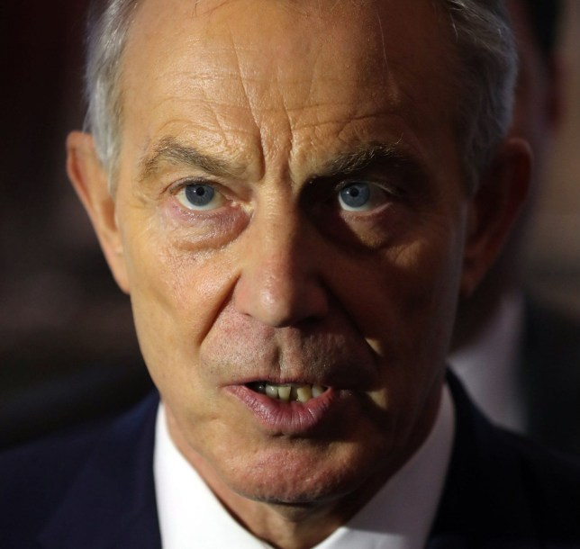 File photo dated 12/05/17 of former prime minister Tony Blair, who will visit Brussels to ask for assistance in preventing the UK's departure from the European Union by promising new measures to address concerns on immigration. PRESS ASSOCIATION Photo. Issue date: Thursday March 1, 2018. Mr Blair will argue that the British people should be given a final say on the Brexit deal - and if EU leaders offer further concessions, the public could change its mind on leaving the bloc. See PA story POLITICS Brexit Blair. Photo credit should read: Niall Carson/PA Wire