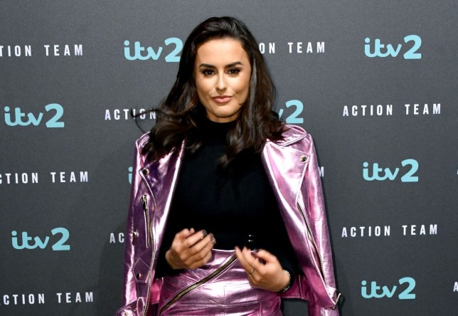 Mandatory Credit: Photo by Nils Jorgensen/REX/Shutterstock (9446152d) Amber Davies ITV2 'Action Team' press launch, London, UK - 01 Mar 2018 Press launch for ITV2's new spoof action comedy Action Team, starts Monday at 10pm, at Victoria House Basement, London. Vicky McClure plays Ruth Brooks the head of Action Team. Tom Davis plays Logan the leader of Action Team and Vlad the baddie Derek Riddell plays Anne, Ruth's assistant. Laura Checkley plays Monica Jim Howick plays Graham Kayode Ewumi plays Huxley