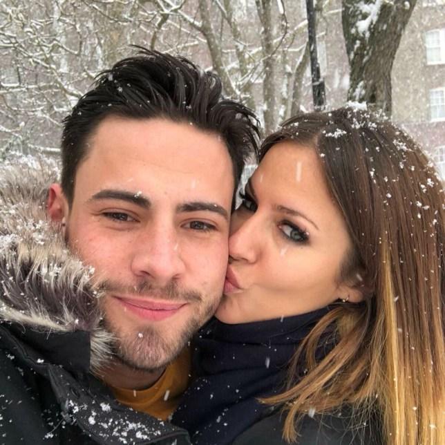 Caroline Flack and Andrew Brady confirm romance Facebook/Caroline Flack