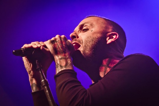 Justin Furstenfeld says Any Man in America is like watching