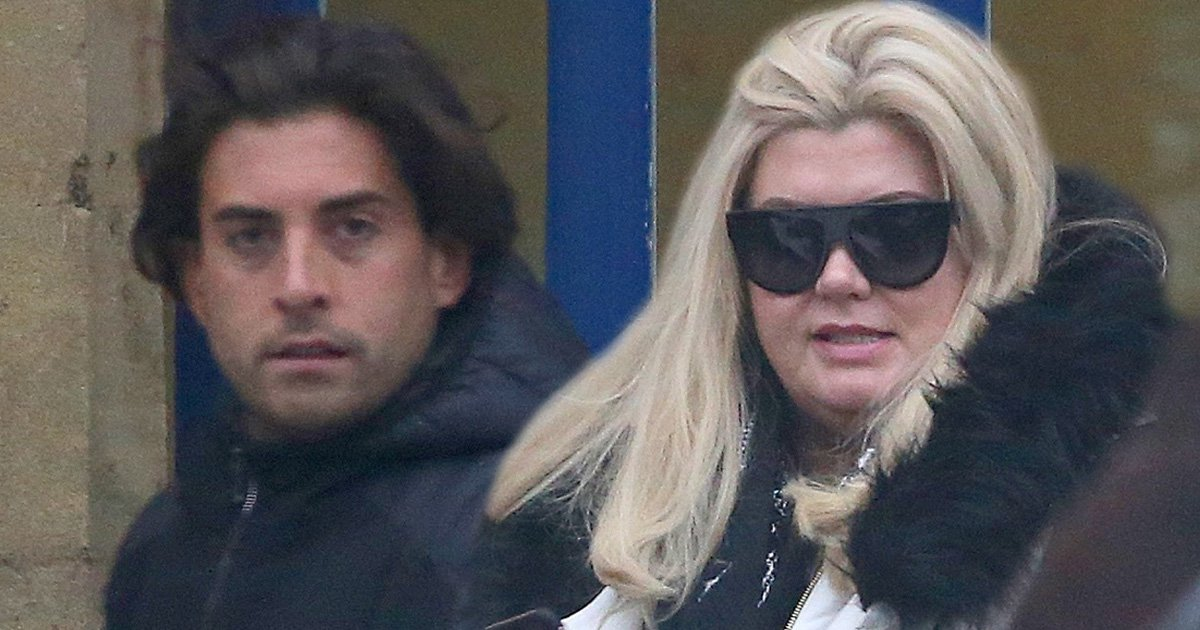 Gemma Collins and Arg take 'post-sex' walk after she posts and deletes video of him naked in bed