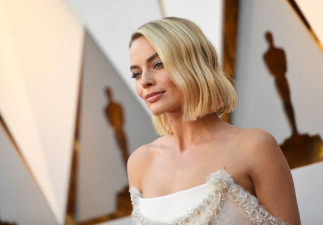 Actress Margot Robbie arrives for the 90th Annual Academy Awards on March 4, 2018, in Hollywood, California. / AFP PHOTO / VALERIE MACONVALERIE MACON/AFP/Getty Images