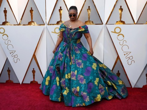 Whoopi Goldberg's floral Christian Siriano Oscars dress has pockets
