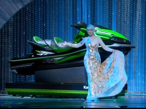 The star with the shortest Oscars acceptance speech will win a jet-ski