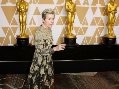 Frances McDormand LOSES Oscar, but has celebratory In-N-Out burger when she finds it