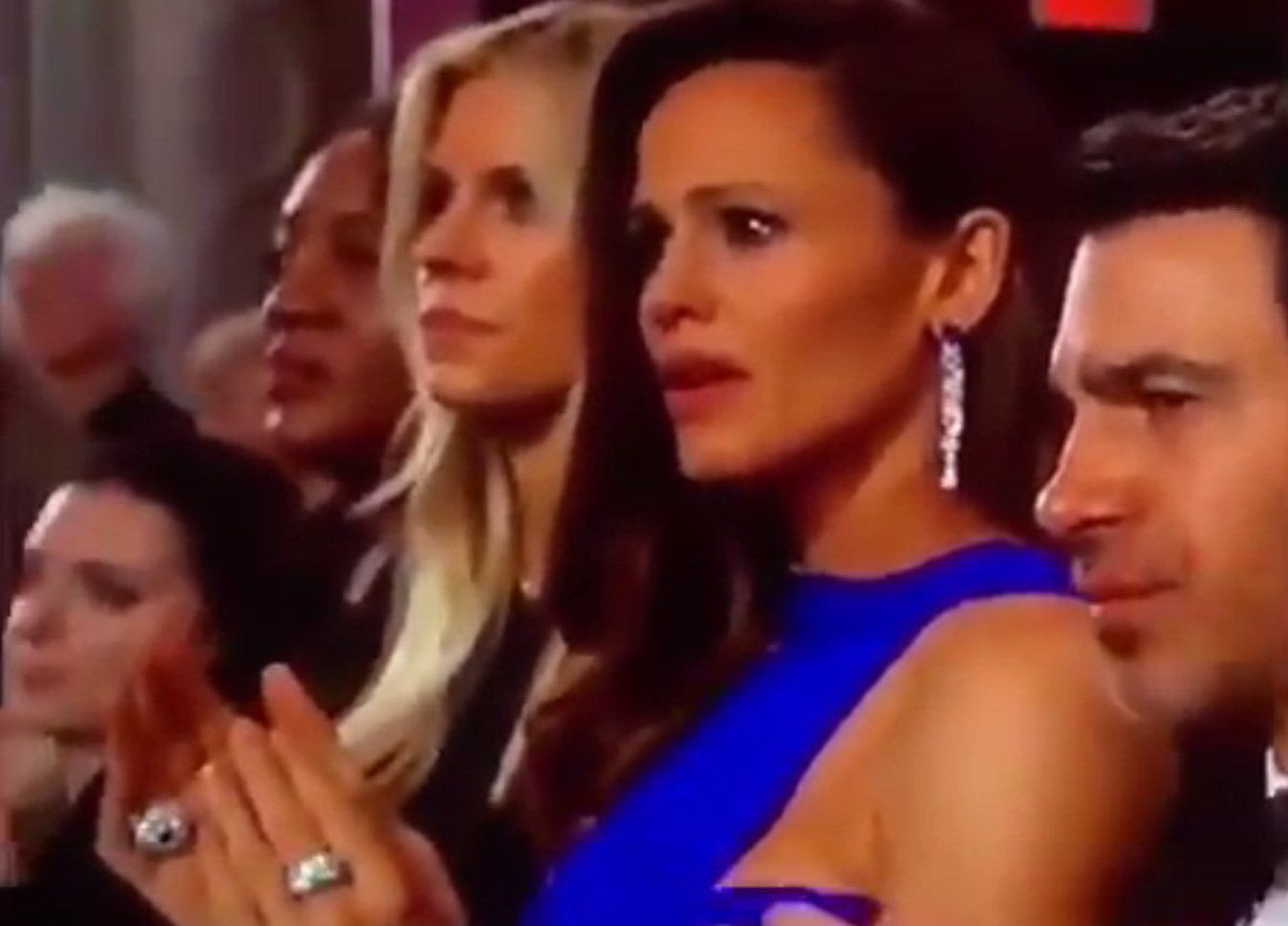 Jennifer Garner hints at what she was really thinking about in viral Oscars meme