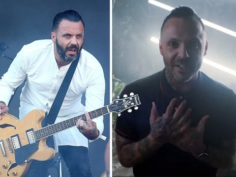 Blue October's Justin Furstenfeld says he'll bring new music to the UK and opens up about his battle with addiction
