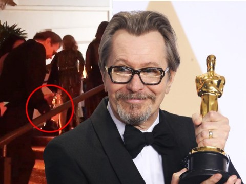 Gary Oldman has already dented his best actor Oscar statue